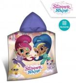 Poncho Micro-fibra Shimmer e Shine