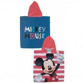 Poncho Microfiba Vermelho Mickey-