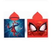 Poncho Microfibra Spiderman 50x100cm