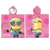 Poncho Minions Tennis Love