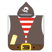 Poncho Pirata Microfibra