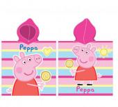 Poncho Porquinha Peppa Microfibra