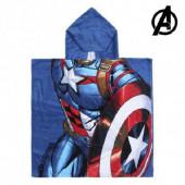 Poncho Praia Algodão Capitão América Avengers