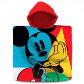 Poncho Praia Algodão Mickey Lets Go