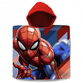Poncho Praia Algodão Spiderman