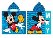 Poncho Praia Mickey Microfibra