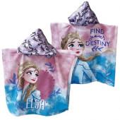 Poncho Praia Microfibra Elsa Frozen 2 Destiny
