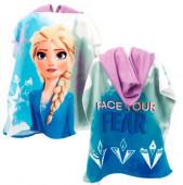 Poncho Praia Microfibra Elsa Frozen 2 Disney