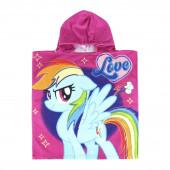 Poncho Praia Microfibra My Little Pony Love