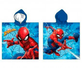 Poncho Praia Microfibra Spiderman Marvel