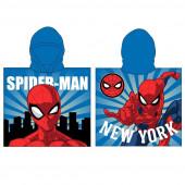 Poncho Praia Microfibra Spiderman New York