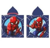 Poncho Praia Microfibra Spiderman