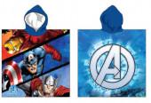 Poncho Praia Verão Microfibra Avengers Marvel