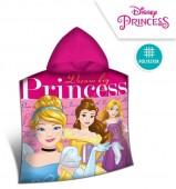 Poncho Princesas Disney Microfibra