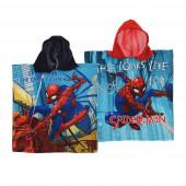 Poncho Spiderman Microfibra Sortido
