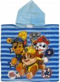 Poncho toalha Algodão - Patrulha Pata