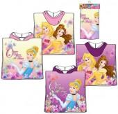 Poncho Toalha algodão Princesas Disney - Sortido