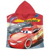 Poncho Toalha Cars Disney McQueen