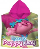 Poncho/Toalha de Trolls - Poppy