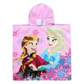 Poncho toalha Frozen - Sisters