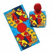 Poncho toalha Homem-Aranha