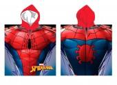 Poncho Toalha microfibra do Spiderman