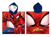 Poncho toalha microfibra Spiderman