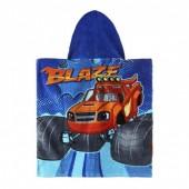 Poncho toalha praia Algodão Blaze e as Monster Machines