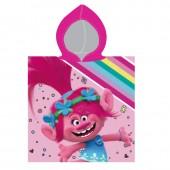 Poncho toalla Poppy Trolls - Arco Íris