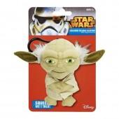 Porta chave de peluche com som Yoda Star Wars 11cm