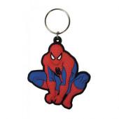 Porta Chaves Borracha Spiderman Marvel