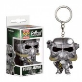 Porta chaves figura POP Vinil - Armadura Combate Fallout