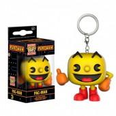 Porta chaves figura POP Vinil Comecocos Pac-Man