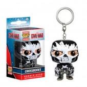 Porta chaves figura POP Vinil - Crossbones Marvel