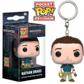 Porta chaves figura POP Vinil -  Nathan Drake Uncharted