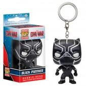 Porta chaves figura POP Vinil - Pantera Negra Marvel