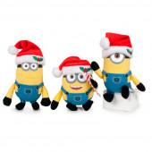 Porta-Chaves Peluche Minions Natal 10cm