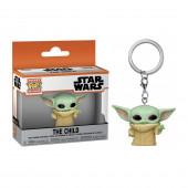 Porta Chaves Pocket Funko POP! Yoda The Child Star Wars The Mandalorian