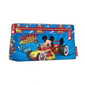 Porta lápis Plano Mickey Racers - Let`s Roll