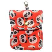 Porta Máscara Bolsa Panda