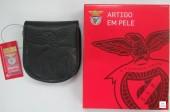Porta Moeda Pata de Cavalo SLB Benfica Preta