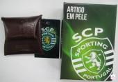 Porta Moeda Pele SCP Sporting