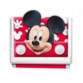 Porta moedas com velcro de Mickey Mouse - Funny