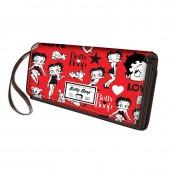 Porta moedas grande Betty Boop - Rouge