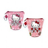 Porta Moedas Hello Kitty Flower