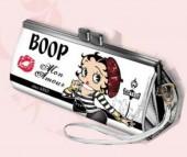Porta moedas Largo Betty Boop-Modelo Branco e Preto