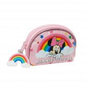 Porta Moedas Minnie Rainbow