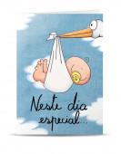 Postal Bebé Neste Dia Especial