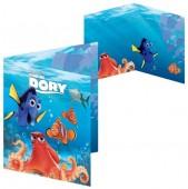Postal Felicitações 3D Disney Dory