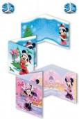 Postal Felicitações 3D Disney Minnie